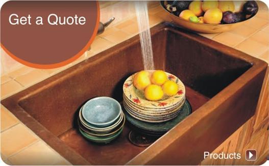 Oldecopper | Buy Copper Sinks Mexico Santa Clara